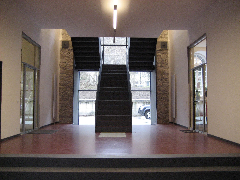 geschosstreppe schlosserei wolfgang hasenknopf. Black Bedroom Furniture Sets. Home Design Ideas